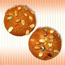 "Cookie ""Oatmeal"" with pumpkin seeds"