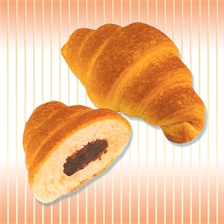 "Croissants with fillings: ""Nut"", ""Chocolate"""