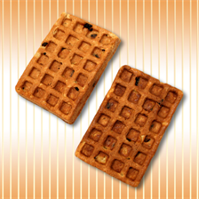 "Waffles ""Viennese"" with raisins"